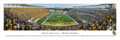 """Inaugural Game"" Baylor Bears at McLane Stadium Panorama Poster"