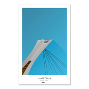 Montreal Expos - Olympic Stadium Art Poster