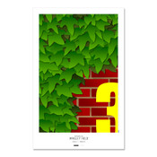 Chicago Cubs - Wrigley Field Art Poster