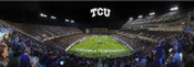 """EndZone"" TCU Horned Frogs at Amon Carter Stadium Panoramic"