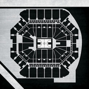 Brooklyn Nets - Barclays Center City Print