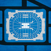Dallas Mavericks - American Airlines Center City Print