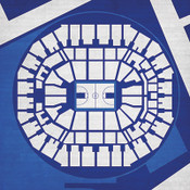 Memphis Tigers - FedEx Forum City Print