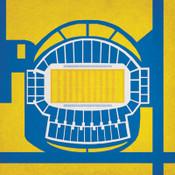 San Jose Spartans - Spartan Stadium City Print