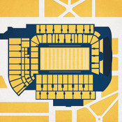 Georgia Tech Yellow Jackets - Bobby Dodd Stadium City Print