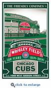 Wrigley Field 100th Anniversary LE Screen Print