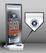 Houston Astros My First Game Ticket Display Stand