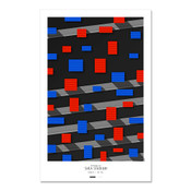 New York Mets - Shea Stadium Art Poster