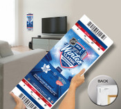 2014 NHL Winter Classic Mega Ticket - Maple Leafs vs Red Wings