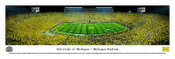 Michigan Wolverines at Michigan Stadium Panorama Poster 1