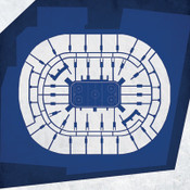 Toronto Maple Leafs - Air Canada Centre City Print