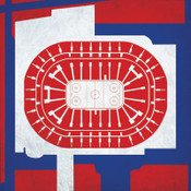 Montreal Canadiens - Bell Centre City Print