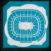 San Jose Sharks - SAP Center City Print