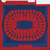 Washington Capitals - Verizona Center City Print
