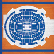 New York Knicks - Madison Square Garden City Print