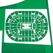 Boston Celtics - TD Bank Garden City Print