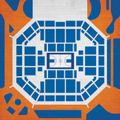 Florida Gators - O'Connell Center City Print