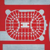 Ohio State Buckeyes -Value City Arena City Print