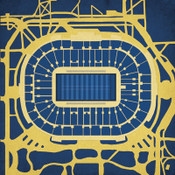 Notre Dame Fighting Irish - Notre Dame Stadium City Print