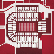 Oklahoma Sooners - Memorial Stadium City Print