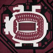 Florida State Seminoles - Doak Campbell Stadium City Print