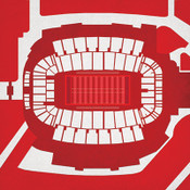 NC State Wolfpack - Carter Finley Stadium City Print