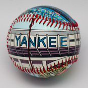 Old Yankee Stadium Baseball