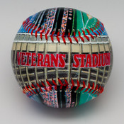 Veterans Stadium Baseball