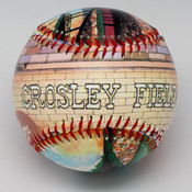 Crosley Field Stadium Baseball