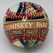 Comiskey Park Stadium Baseball