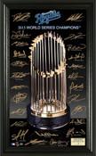 "Kansas City Royals 2015 World Series Champions ""Trophy"" Signatur"