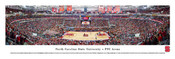 NC State Wolfpack Basketball at PNC Arena Panoramic Poster