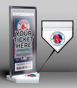 Boston Red Sox My First Game Ticket Display Stand