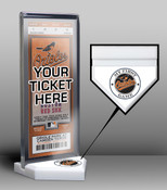 Baltimore Orioles My First Game Ticket Display Stand