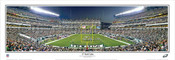 """17 Yard Line"" Philadelphia Eagles Panoramic Poster"