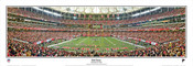 """End Zone"" Atlanta Falcons Panoramic Poster"