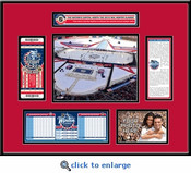 2015 NHL Winter Classic Ticket Frame - Blackhawks vs Capitals