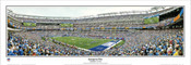 """Inaugural Win"" New York Giants Panoramic Poster"