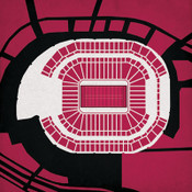 State Farm Stadium - Arizona Cardinals City Print