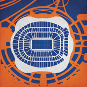 Sports Authority Field - Denver Broncos City Print