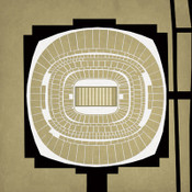 Superdome - New Orleans Saints City Print