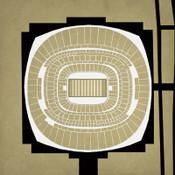 Superdome - New Orleans Saints City Print