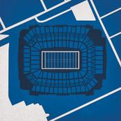 Lucas Oil Stadium - Indianapolis Colts City Print