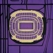 M&T Bank Stadium - Baltimore Ravens City Print