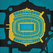 EverBank Field - Jacksonville Jaguars City Print
