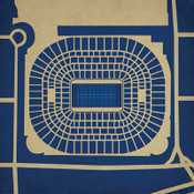 Edward Jones Dome - St. Louis Rams City Print