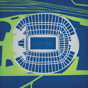 CenturyLink Field - Seattle Seahawks City Print