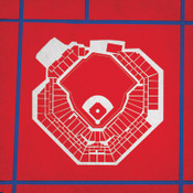 Citizens Bank Park - Philadelphia Phillies City Print