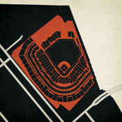 AT&T Park - San Francisco Giants City Print