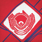 Busch Stadium - St. Louis Cardinals City Print